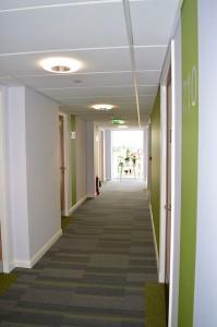 Residency corridor